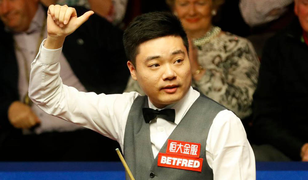 Ding Junhui wins the WPBSA Indian Open 2013